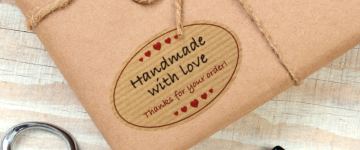 Kraft Paper Labels | www.stickersinternational.co.uk